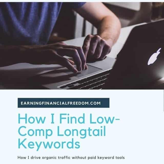 How I Find Low Competition Longtail Keywords for Free