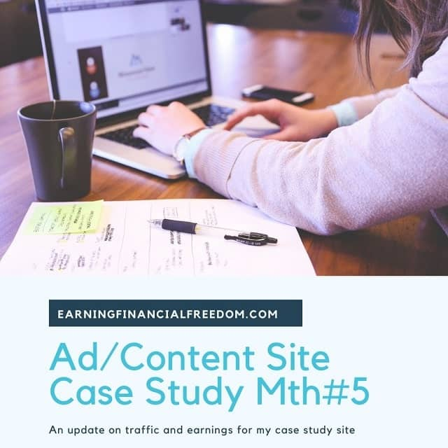 Adsense content site case study month 5 May 2020 Update