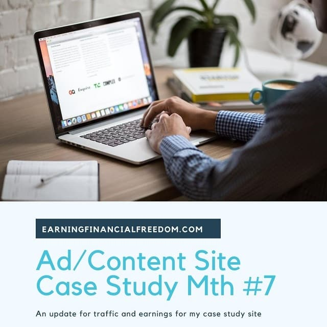 Ad content site case study month 7
