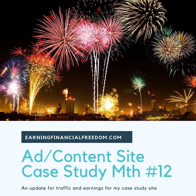 content site case study update month 12